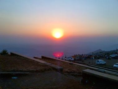Sunset Point Saputara
